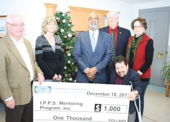 Community Foundation Awards $1,000 Grant to I.P.P.S Mentoring Program