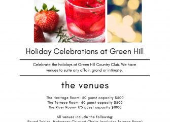 Holiday Celebrations at Green Hill