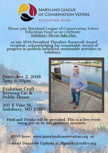 Teddy Roosevelt Award Event Flier 2018