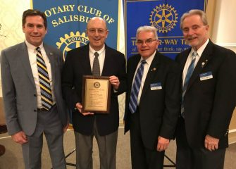 Rotary Club Of Salisbury Names Ted R. Evanc As Ita 2019 Four-Way Test Award Recipient