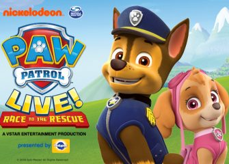 "PAW Patrol Live! ""Race to the Rescue"" Takes Center Stage in Salisbury"