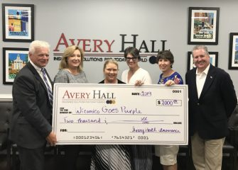 Avery W. Hall Joins the Wicomico Goes Purple Initiative