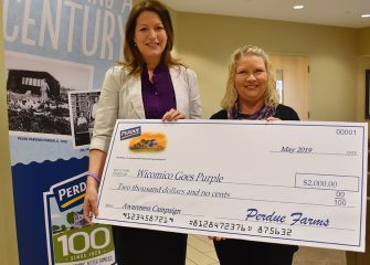 Perdue Farms Joins In the Wicomico Goes Purple Initiative