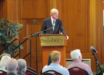 """Visits with US Presidential Candidates"" Series Kicks Off with Republican Presidential Candidate William Weld"
