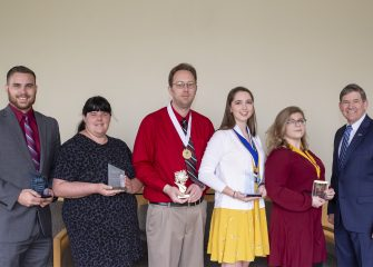 PTK chapter receives awards