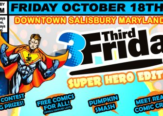 3rd Friday in Downtown Salisbury
