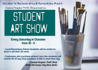 Coastal Hospice Thrift Shop Partners with Local Schools to Celebrate National Arts & Humanities Month