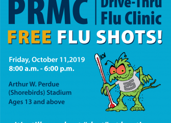 PRMC's Drive-Thru Flu Clinic Returns on Friday, October 11 for a 25th Season