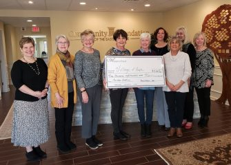 Community Foundation's Women's Fund raises $9,800 for the Village of Hope