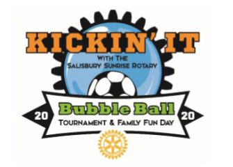 3rd Annual Salisbury Sunrise Rotary Bubble Ball Soccer Tournament & Family Fun Day- March 28, 2020