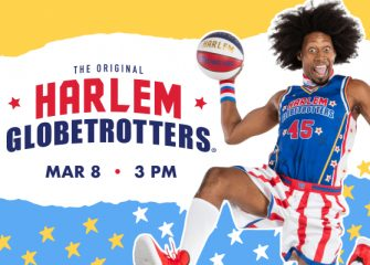 "Harlem Globetrotters ""Pushing The Limits"" In Salisbury On March 8 During 2020 World Tour"