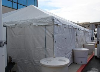 PRMC Establishes Covid-19 Triage Tent Outside Emergency Department