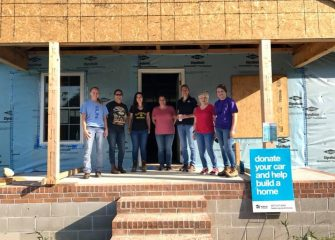Habitat for Humanity of Wicomico County and Lowe's Partner for International Women Build Week