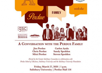 "Greater Salisbury Committee Announces ""A Conversation with the Perdue Family"""