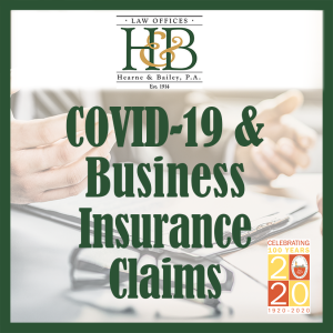 COVID19 Insurance Hearne and Bailey sbyBIZ
