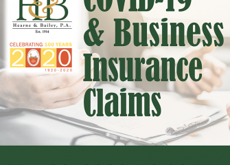 Hearne & Bailey, PA and SACC to Host COVID 19 and Business Insurance Claims Webinar