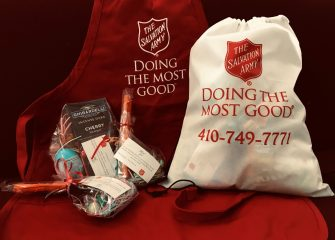 Salvation Army Delivers Goodie Bags To PRMC PSA