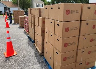 The Salvation Army Hosting Drive-Thru Food Distribution With Choptank Electric