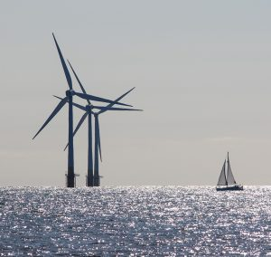 Wind Power. Environmentally Friendly Sailing Yacht. Offshore Win
