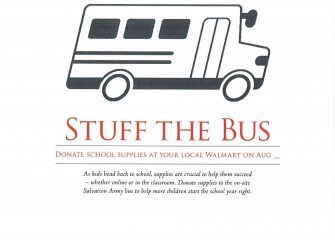 "The Salvation Army Joins Forces With Walmart to ""Stuff the Bus"""