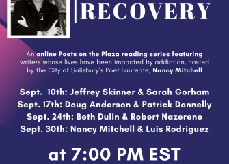 City's Poet Laureate Set to Host Three More 'Poetry and Recovery' Zoom Events