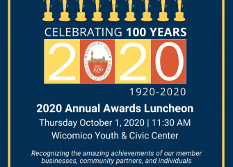 Salisbury Area Chamber of Commerce to Host 2020 Annual Awards Luncheon