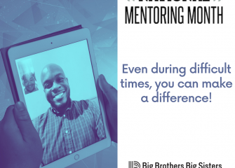 Big Brothers Big Sisters of the Eastern Shore Celebrates National Mentoring Month